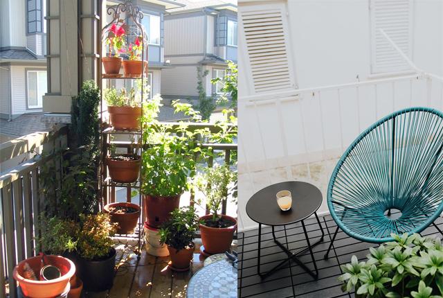 Urządzanie małego balkonu