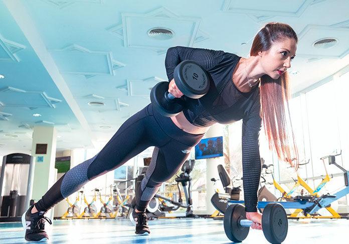 Trening na siłowni dla kobiet