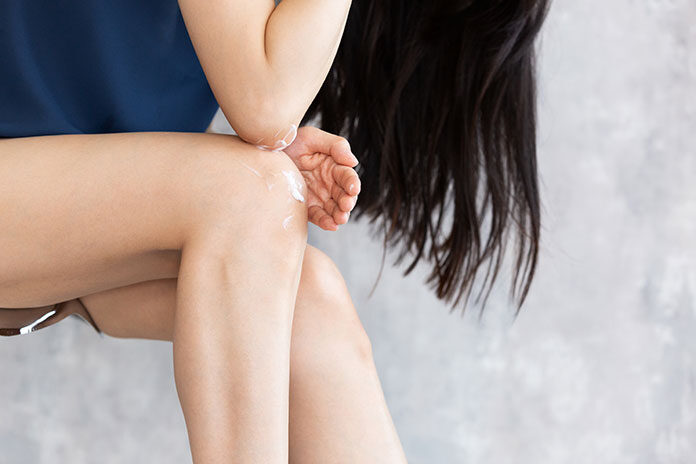 Sucha skóra na łokciach i kolanach